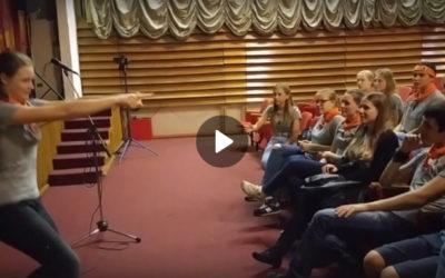 День 2. Выездное мероприятие детского клуба «Ноев Ковчег» 2016 (Слёт следопытов)